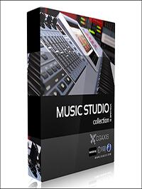 CGAxis Models Volume 31 Music Studio