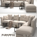 Flexform Zeno Sofa