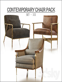 Contemporary Chair Pack - Set III