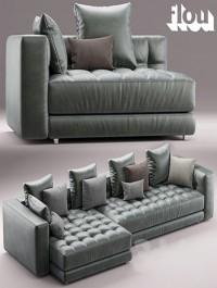 Sofa doze flou