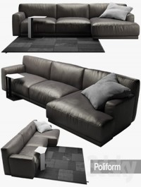 Poliform Paris Seoul sofa 2