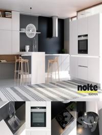 Kitchen NOLTE Glas Tec Satin + Sigma Lack (vray GGX, corona PBR)