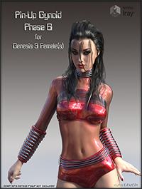 Pin-Up Gynoid Phase6 for G3F by EdArt3D