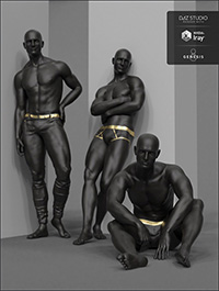 Noir Poses for Genesis 8 Male