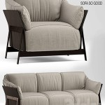 Sofa and chair kanaha ditre italia