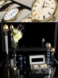 Watches and Perfumes Decorative set
