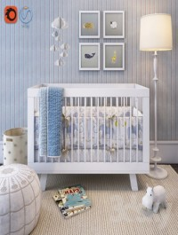 Collection of furniture and decoration for babies from Serena & Lily