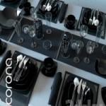 Table service Luminarc Quadrato Black