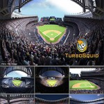 Yankee Stadium with Animated Audience