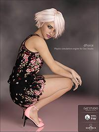 dForce Annie Dress for Genesis 8 Female(s)