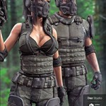 Tactical Assault Outfit for Genesis 8 Male(s) and Female(s)