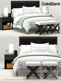 Oliver Bedroom Collection, Crate&Barrel
