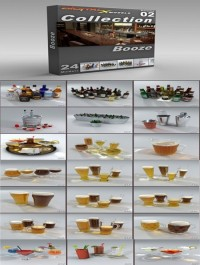 DigitalXModels 3D Model Collection Volume 2: Booze