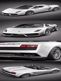 Lamborghini Gallardo LP560-4 Spyder 3D Model