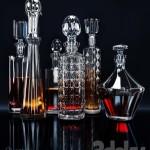 Set for whiskey bar