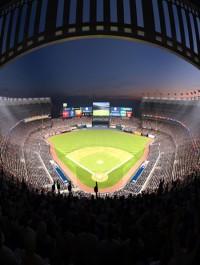 TurboSquid Yankee Stadium with Animated Audience