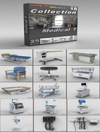 DigitalXModels 3D Model Collection Volume 18 MEDICAL 1