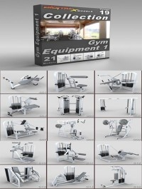 DigitalXModels - 3D Model Collection - Volume 19: GYM EQUIPMENT 1
