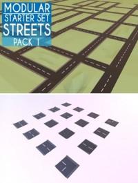 CM Modular Low Poly Street Starter Set 2158982