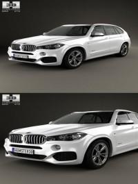 Humster3D BMW X5M F15 2016 3D Model