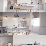 White Scandinavy Home 3D Scene