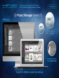 3d-kstudio Project Manager v2.88.20 for 3ds Max 2012 - 2018