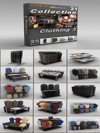 DigitalXModels - 3D Model Collection - Volume 21: CLOTHING 3