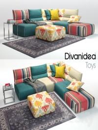 Sofa Divanidea Toys