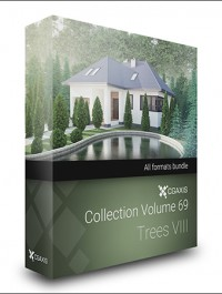 CGAxis Models Volume 69 Trees VIII