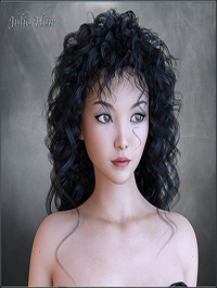 Julia Hair for G3 and G8 Daz by RPublishing