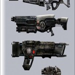 Sci-Fi Firearms Animated Pack
