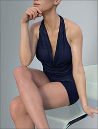 Hongyu's Mini Dress for Victoria 8 and Genesis 8 Female