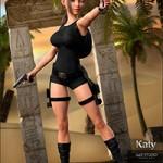 Katy for Genesis 8 Female