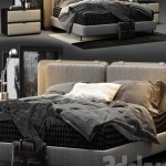 Minotti Tatlin Soft Bed