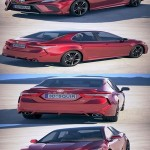 Toyota Camry SE 2018 3D Model