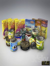 Canned and cereals