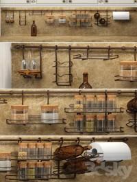 Rail for kitchen
