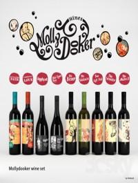 set of wine Mollydooker (9 bottles)