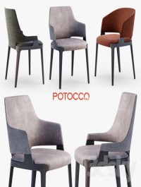 Potocco Velis chair, armchair, tub chair