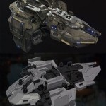 Light Support Fregate 3D Model