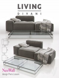 Living Divani - NeoWall Sofa Composition II