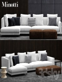 Sofa minotti allen