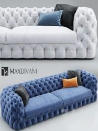 Sofa MaxDivani AUTOGRAFO Tufted