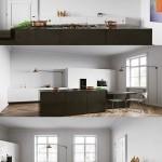 At kitchen Interior Scene by Tomek Michalski