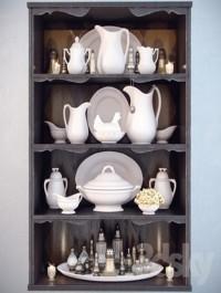 Dishes for shelves Decor Shelf