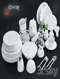 Ware and accessories for kitchen, restaurant