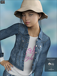 Tori HD for Genesis 8 Female