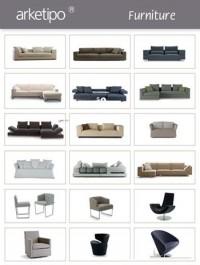 ARKETIPO Furniture 3D Models