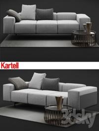 Kartell Largo Sofa
