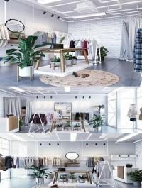 Fashion Shop 10 Interior Scene